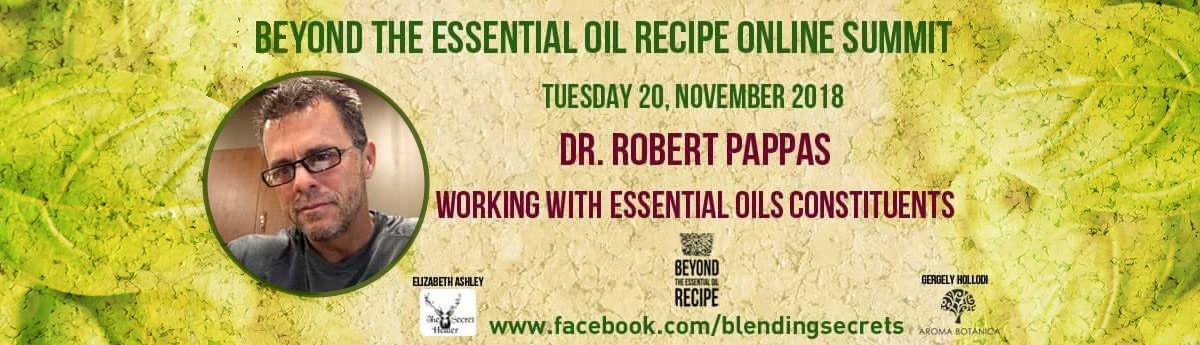 Beyond Essential Oil Summit Card - Dr. Pappas
