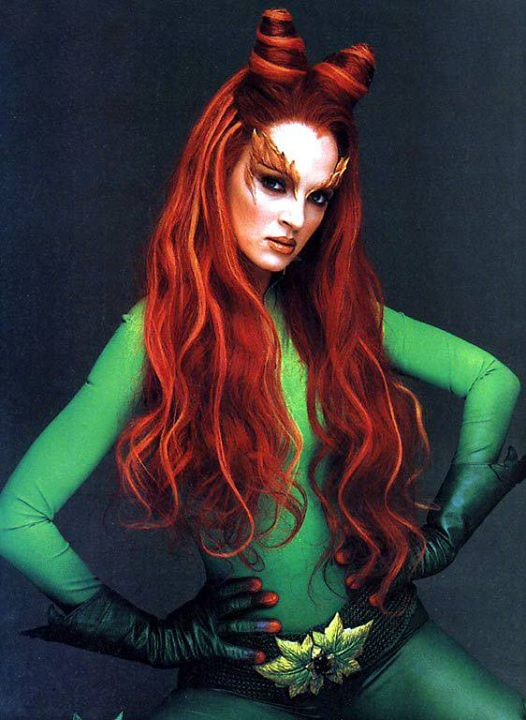 Picture of the Villian Poison Ivy